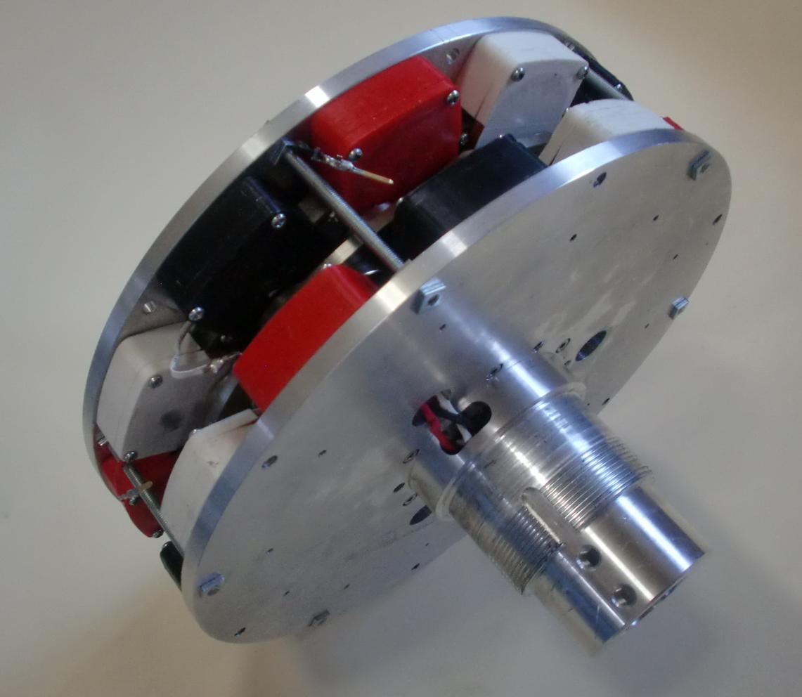 インナーローター型ディスク発電機